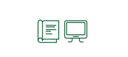 書籍和電腦螢幕在低可見度情況下提高了安全性